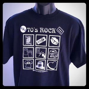 Other - 70's Rock Band T-Shirt NWT Rock & Roll